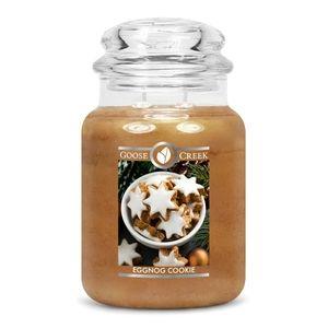 Goose Creek Large Jar Eggnog Cookie Candle
